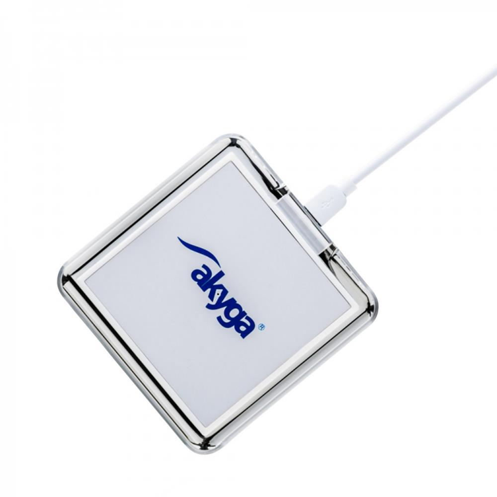 Akyga Ładowarka indukcyjna QI AK-QI-02 biała