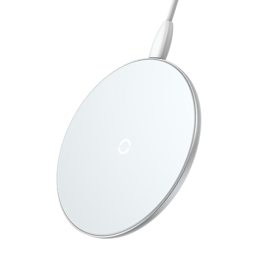 Baseus ładowarka indukcyjna Simple biała