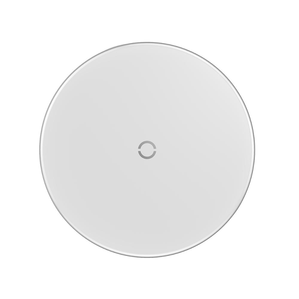 Baseus ładowarka indukcyjna Simple biała / 2