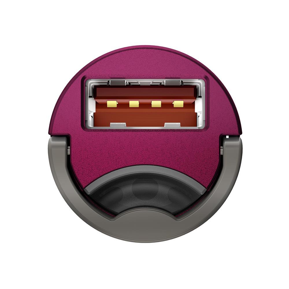 Baseus ładowarka samochodowa Tiny Star Mini QC 3.0 1USB różowa 30W / 7