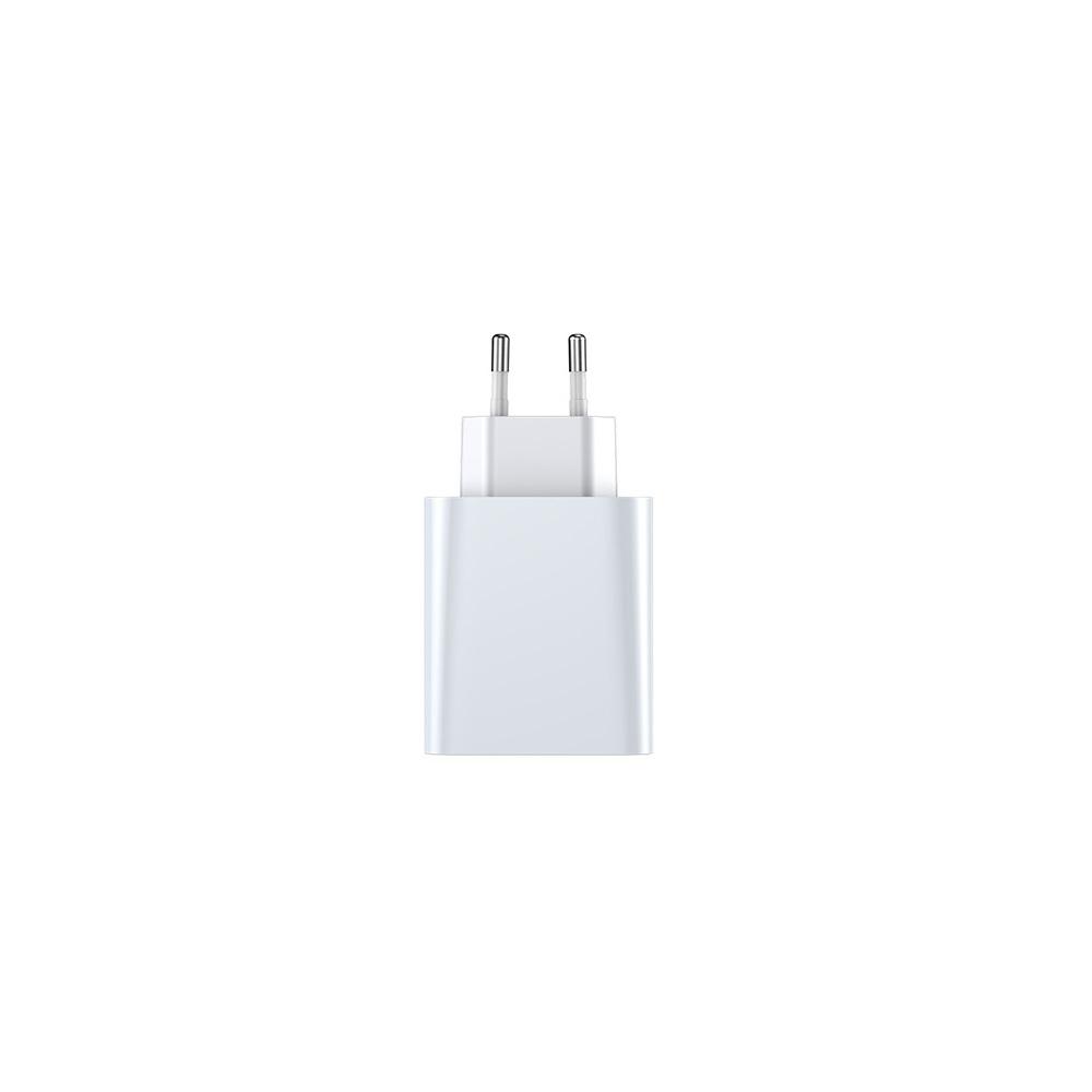 Baseus ładowarka sieciowa PPS QC USB + PD 30W biała / 2
