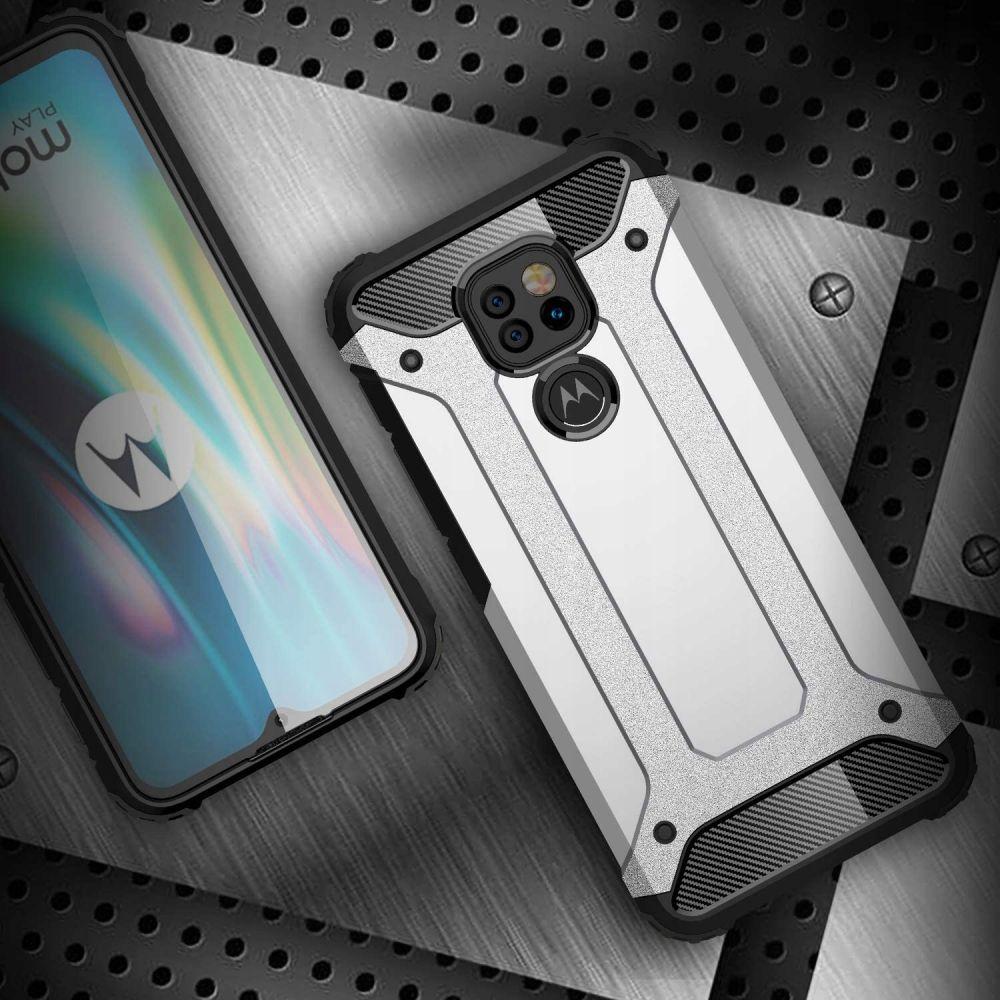 etui pancerne Armor Case Czarne Motorola Moto E7 Plus / 5