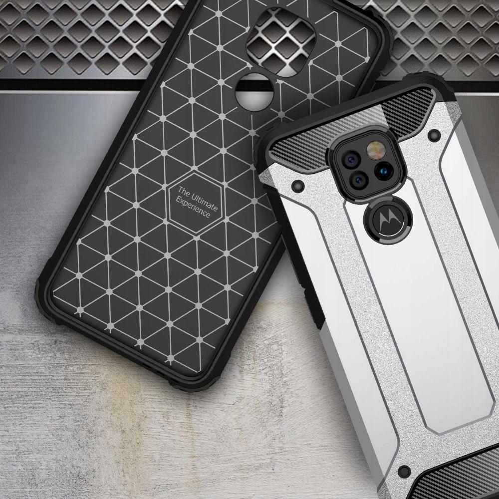 etui pancerne Armor Case Czarne Motorola Moto E7 Plus / 7