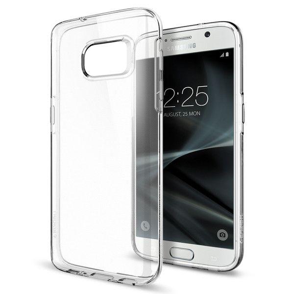 etui Spigen Liquid Crystal Przeźroczyste Samsung Galaxy S7 / 2