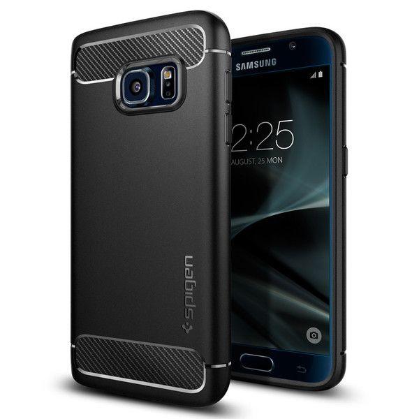 etui Spigen Rugged Armor Czarne Samsung Galaxy S7
