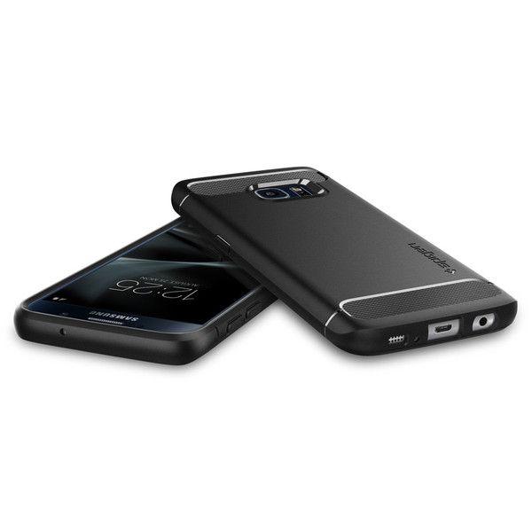 etui Spigen Rugged Armor Czarne Samsung Galaxy S7 / 3