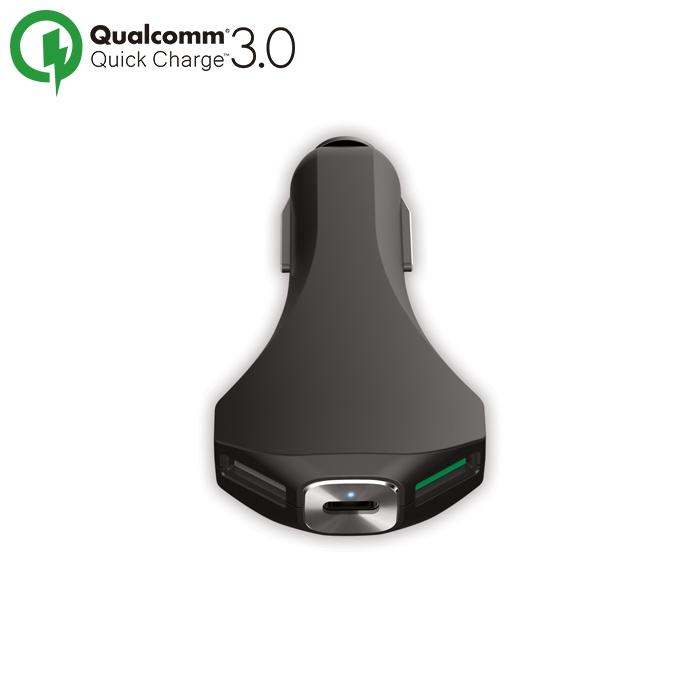 Ładowarka samochodowa Forever 2xUSB + Qualcomm 3.0 + USB Typ-C PCC-02 / 2