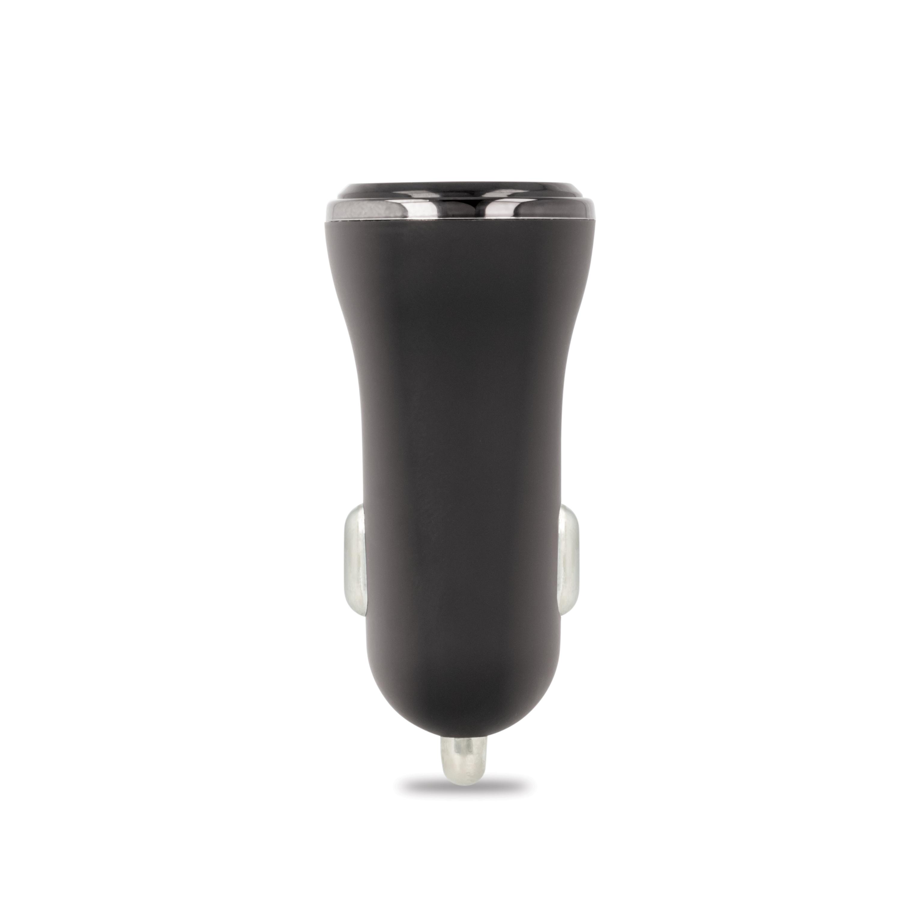Ładowarka samochodowa Forever CC-03 (2x USB | 2,4 A) + kabel Lightining do iPhone 8-pin / 2