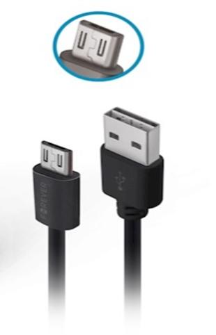 Ładowarka samochodowa Forever CC-03 (2x USB | 2,4 A) + kabel microUSB / 2