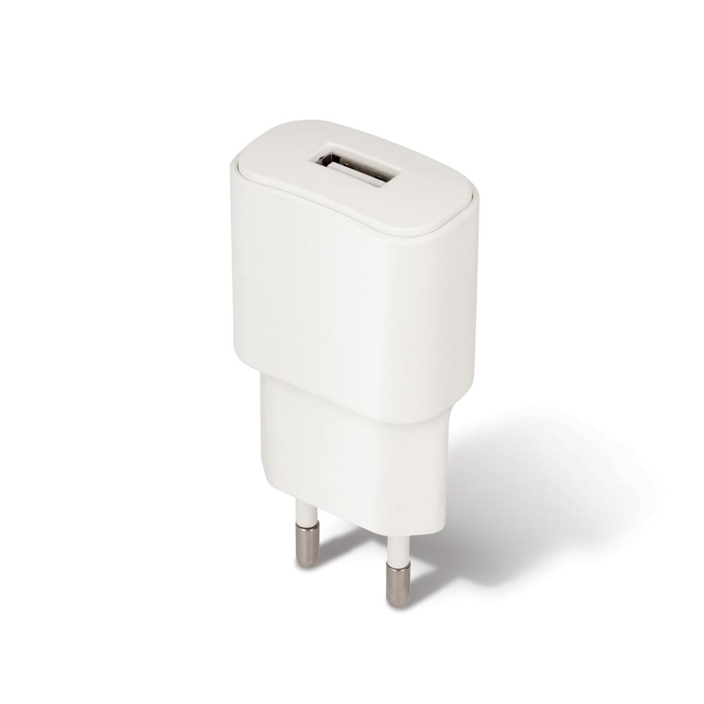 Ładowarka sieciowa Forever USB 1A TC-01 + kabel do iPhone 8-pin biała / 2