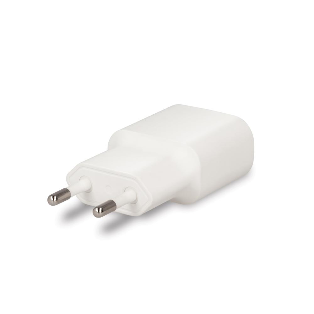 Ładowarka sieciowa Forever USB 1A TC-01 + kabel do iPhone 8-pin biała / 4