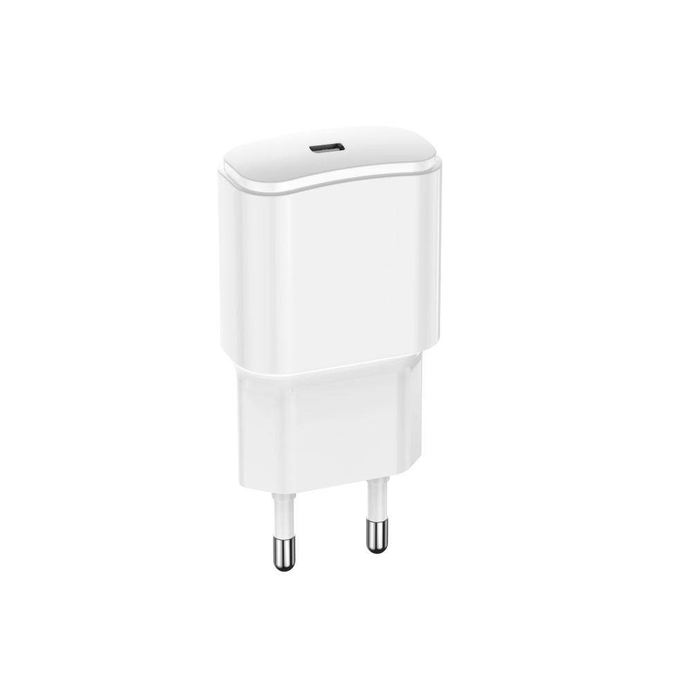 Ładowarka sieciowa Forever USB 3A (20W) PD TC-01 biała / 4