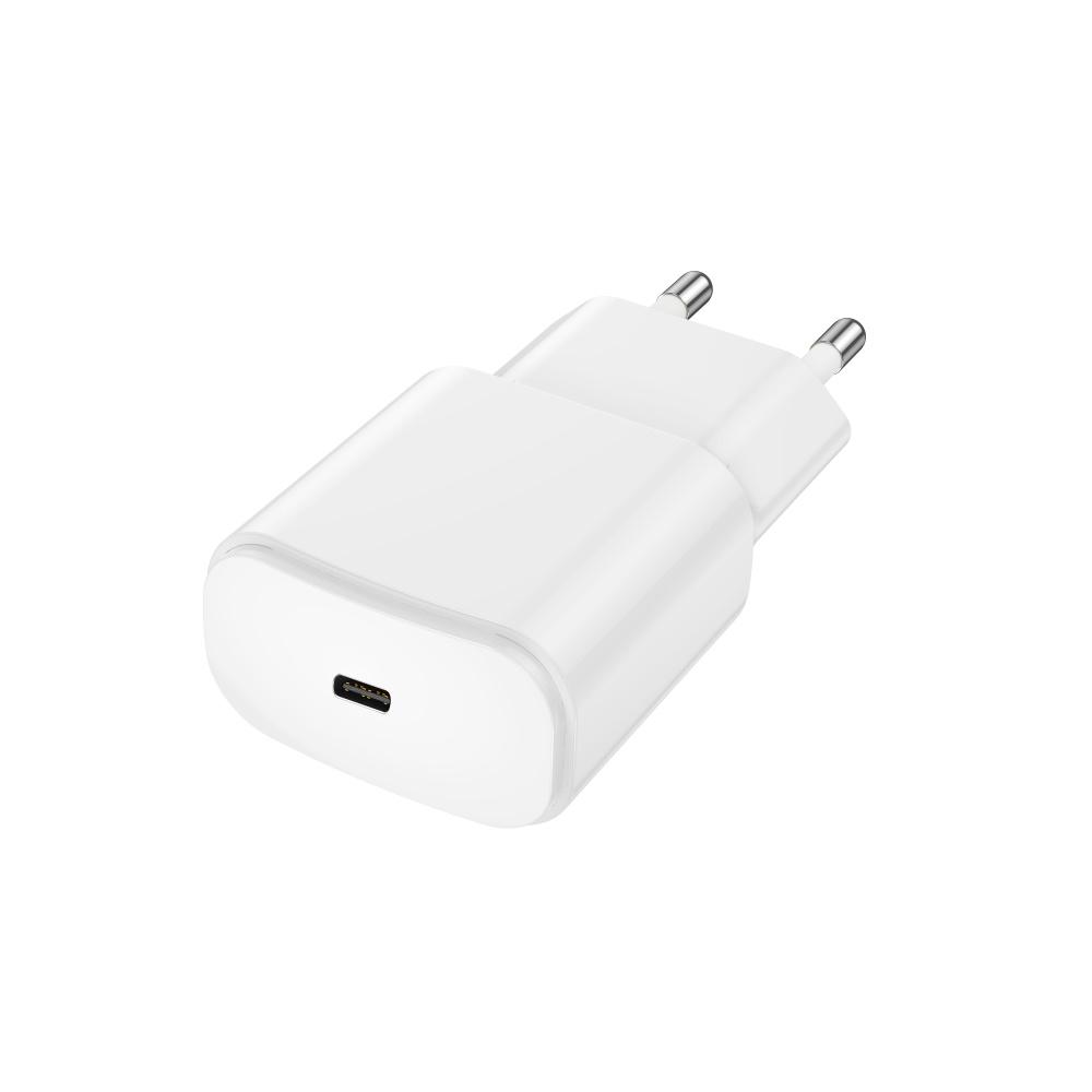 Ładowarka sieciowa Forever USB 3A (20W) PD TC-01 biała / 5