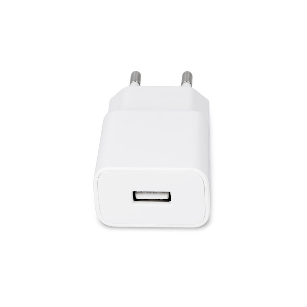 Ładowarka sieciowa Maxlife MXTC-01 USB Fast Charge 2.1A + kabel Typ-C biała / 3