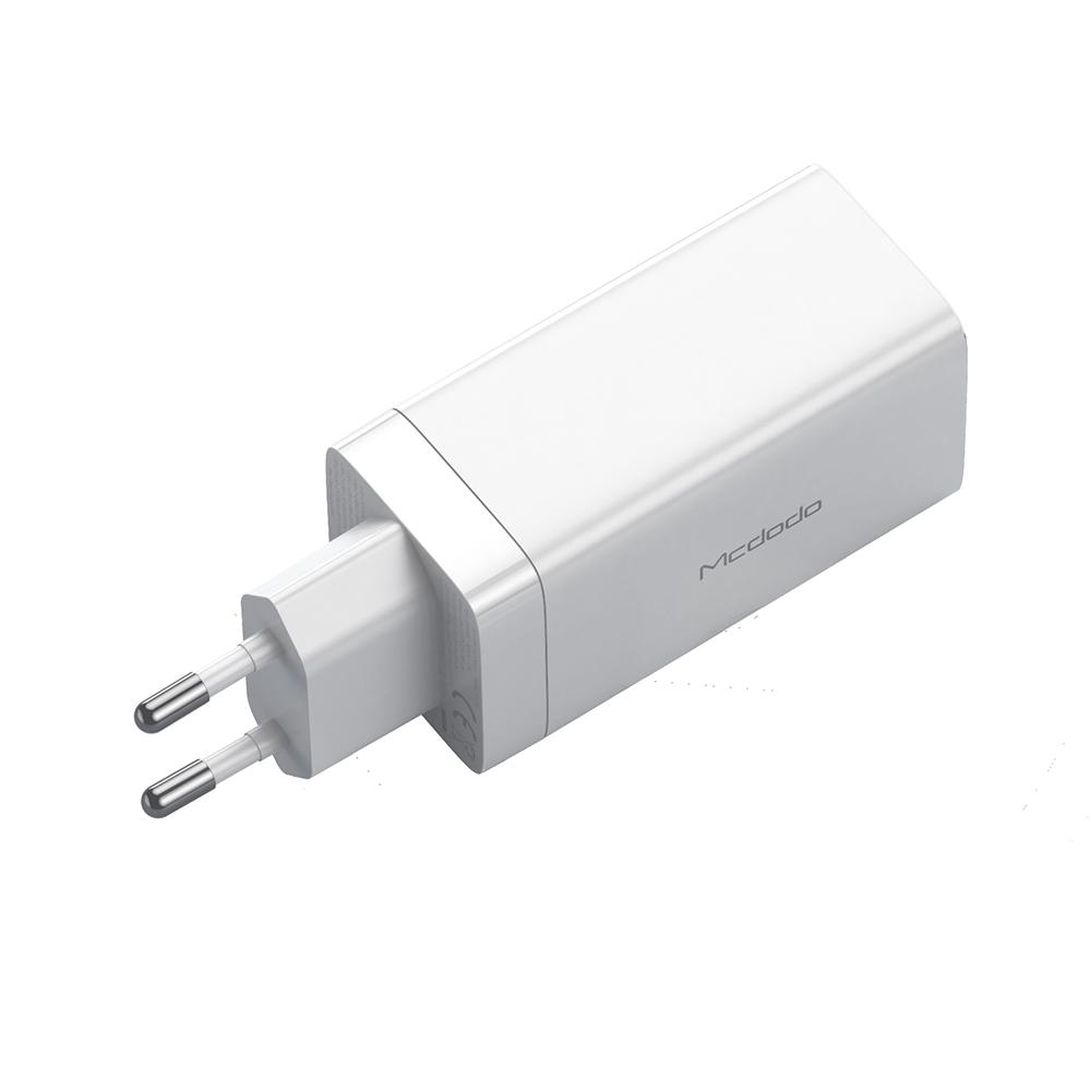 Mcdodo ładowarka sieciowa GaN 3USB USB-A/ 2xPD USB-C 65W biała CH-7920 / 4