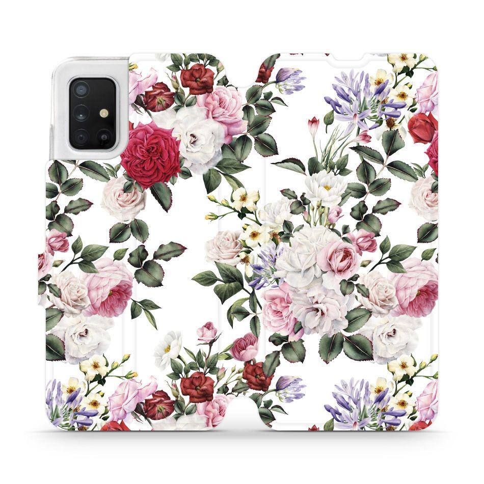 Mobiwear Md01s Floral Samsung Galaxy A51