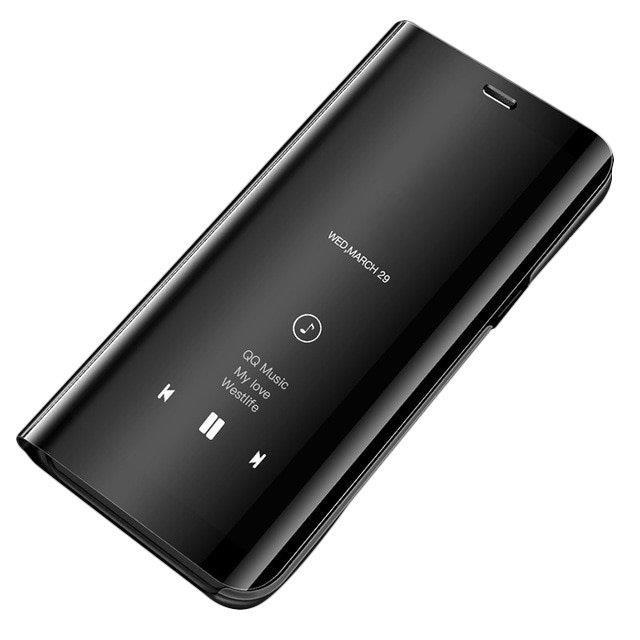 Pokrowiec Clear View czarny Samsung Galaxy S7 Edge
