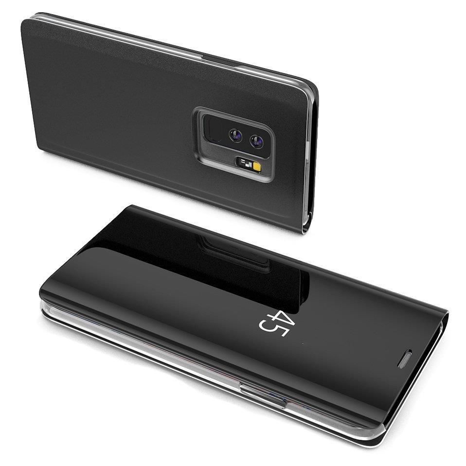 Pokrowiec Clear View czarny Samsung Galaxy S7 Edge / 2