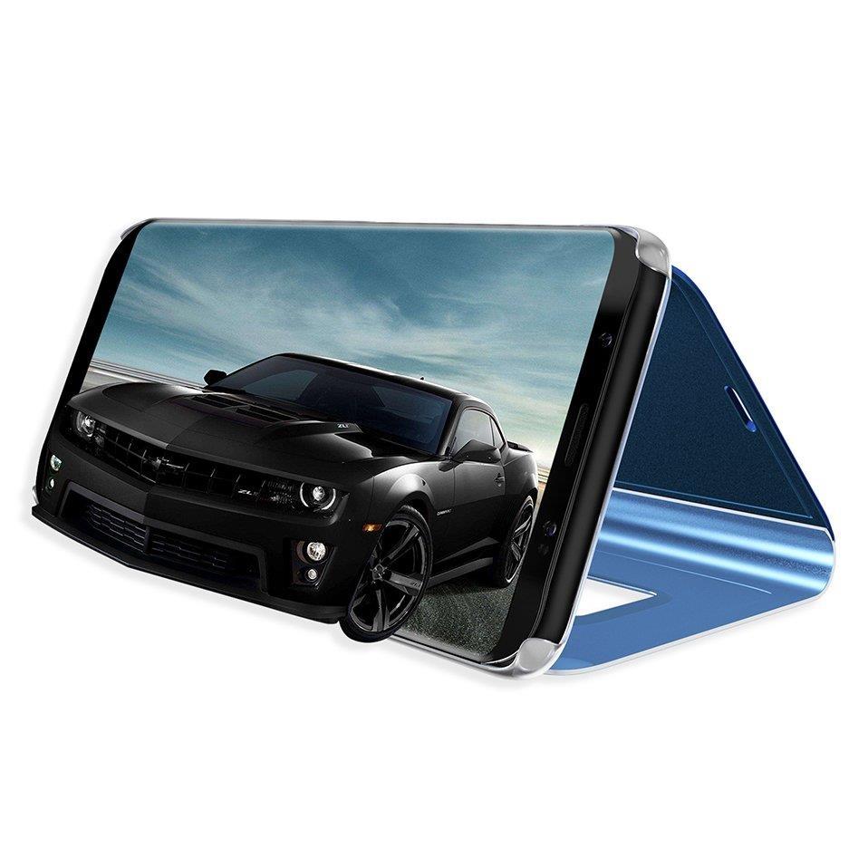 Pokrowiec Clear View czarny Samsung Galaxy S7 Edge / 3