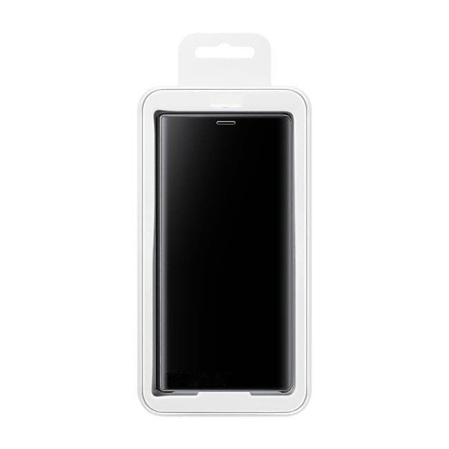 Pokrowiec Clear View czarny Samsung Galaxy S7 Edge / 8