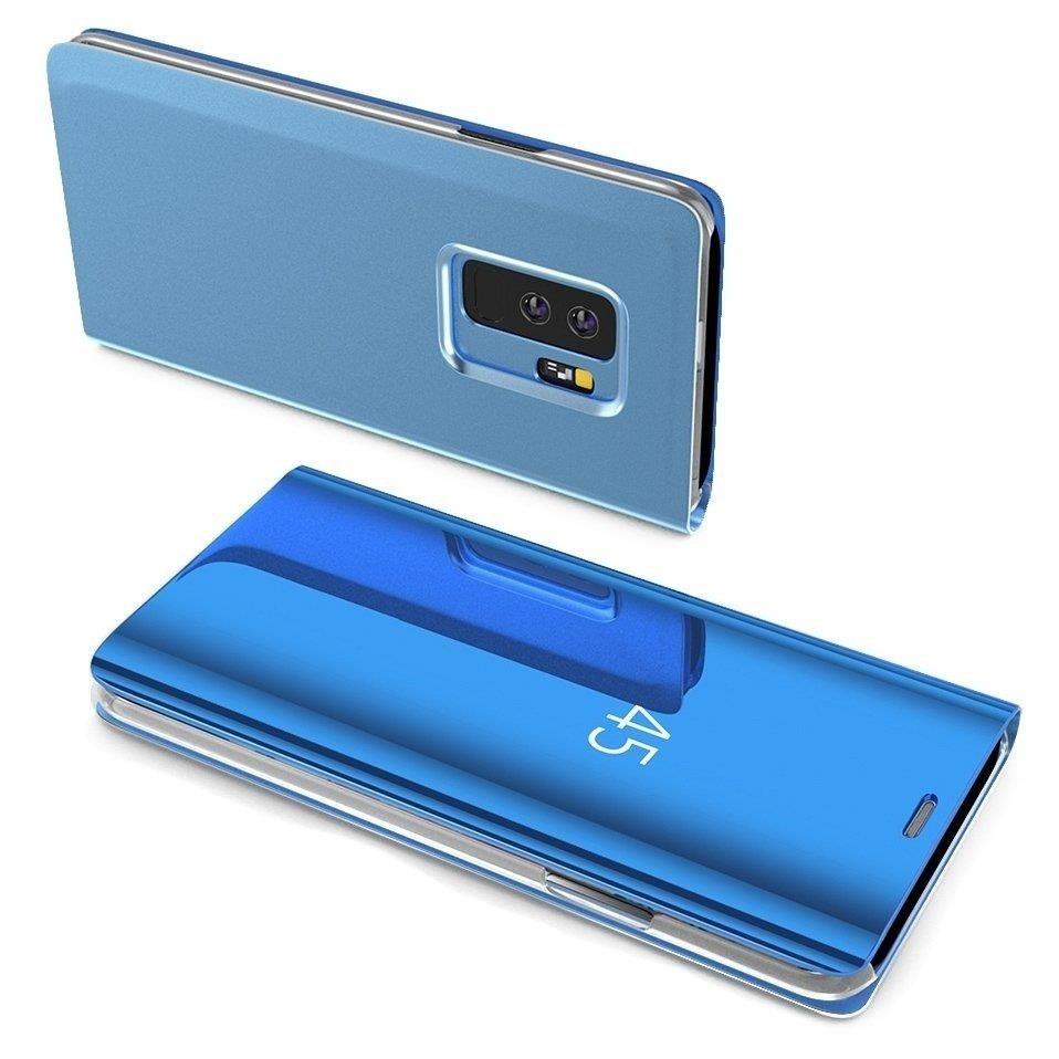 Pokrowiec Clear View niebieski Samsung Galaxy A40 / 2