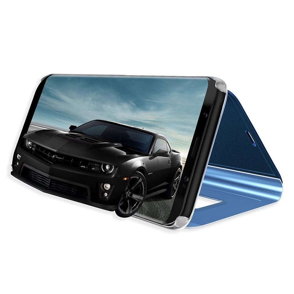 Pokrowiec Clear View niebieski Samsung Galaxy A40 / 3