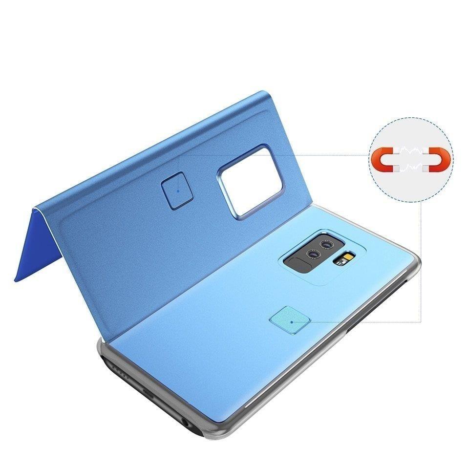 Pokrowiec Clear View niebieski Samsung Galaxy A40 / 4