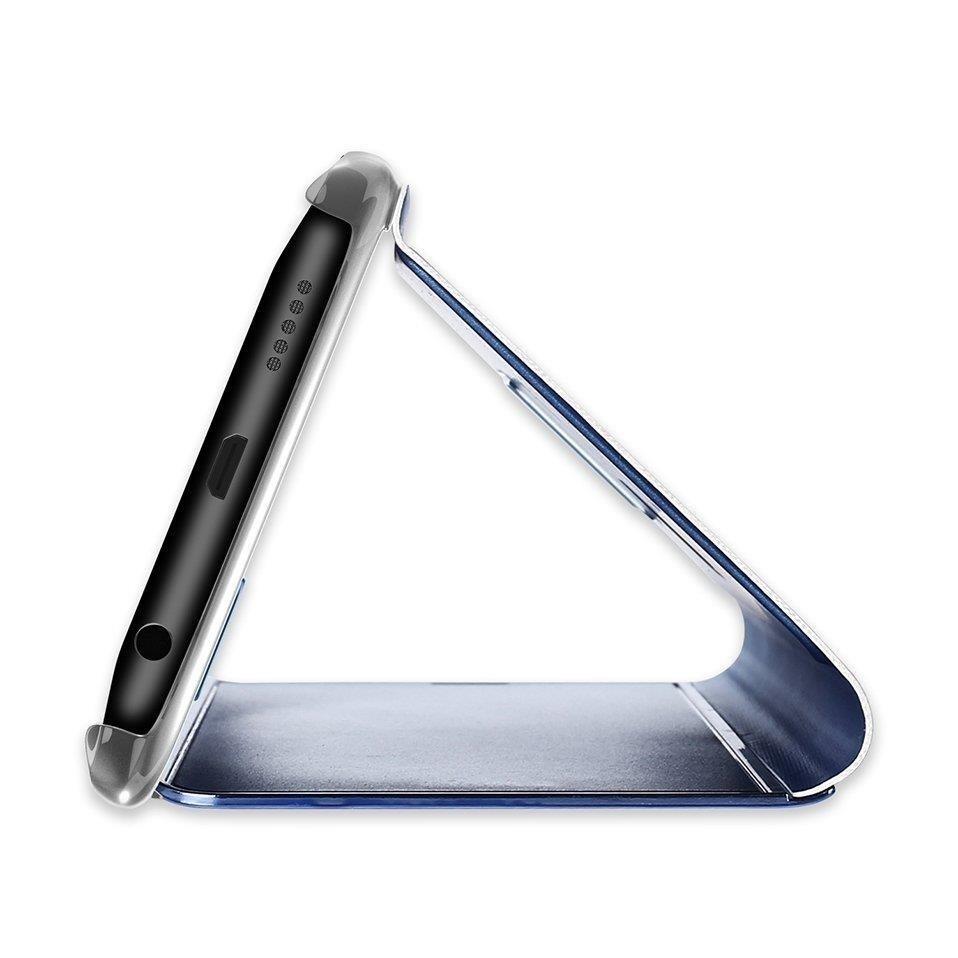 Pokrowiec Clear View niebieski Samsung Galaxy A40 / 5