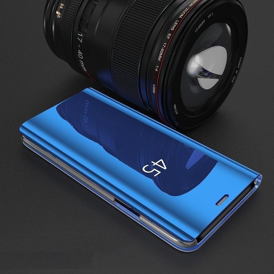 Pokrowiec Clear View niebieski Samsung Galaxy A40 / 6
