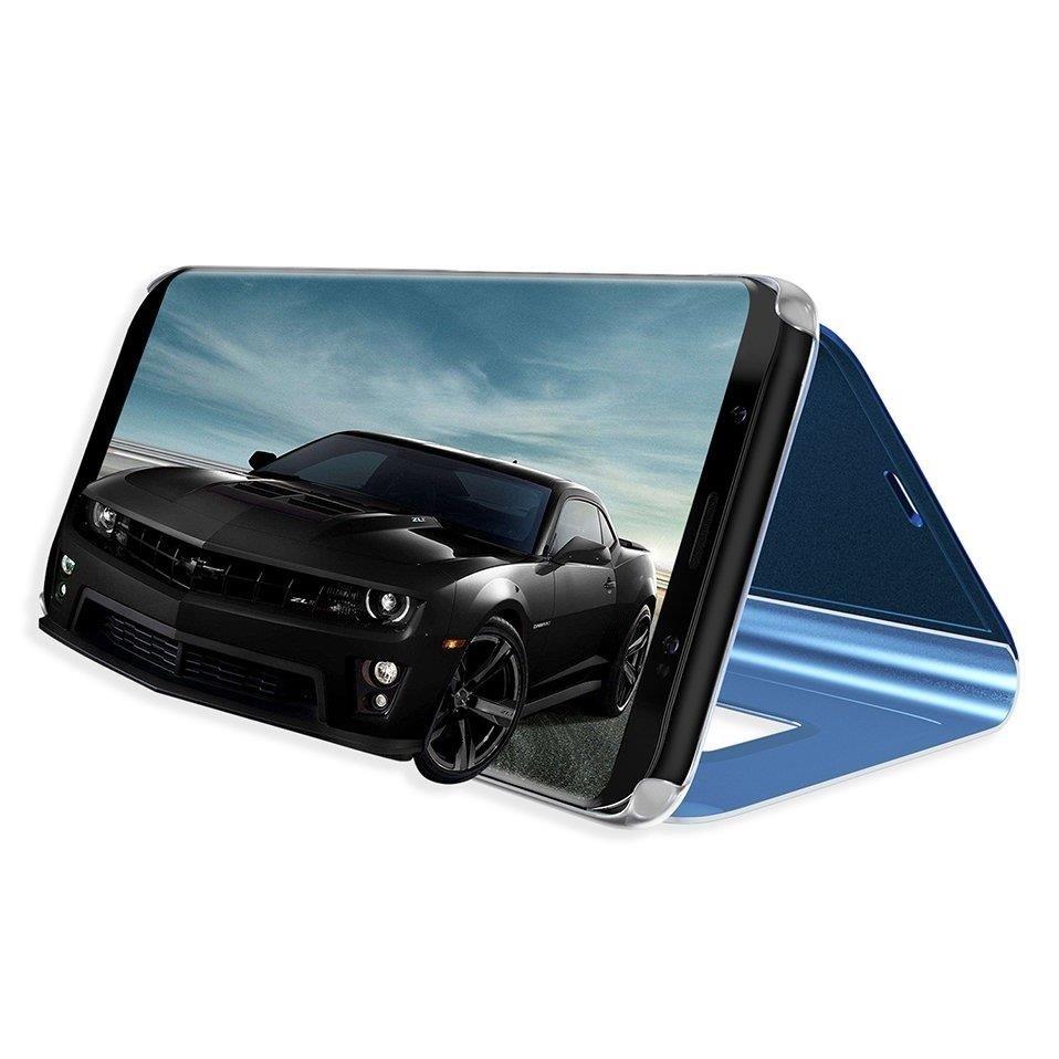 Pokrowiec Clear View niebieski Samsung Galaxy S10 Plus / 3