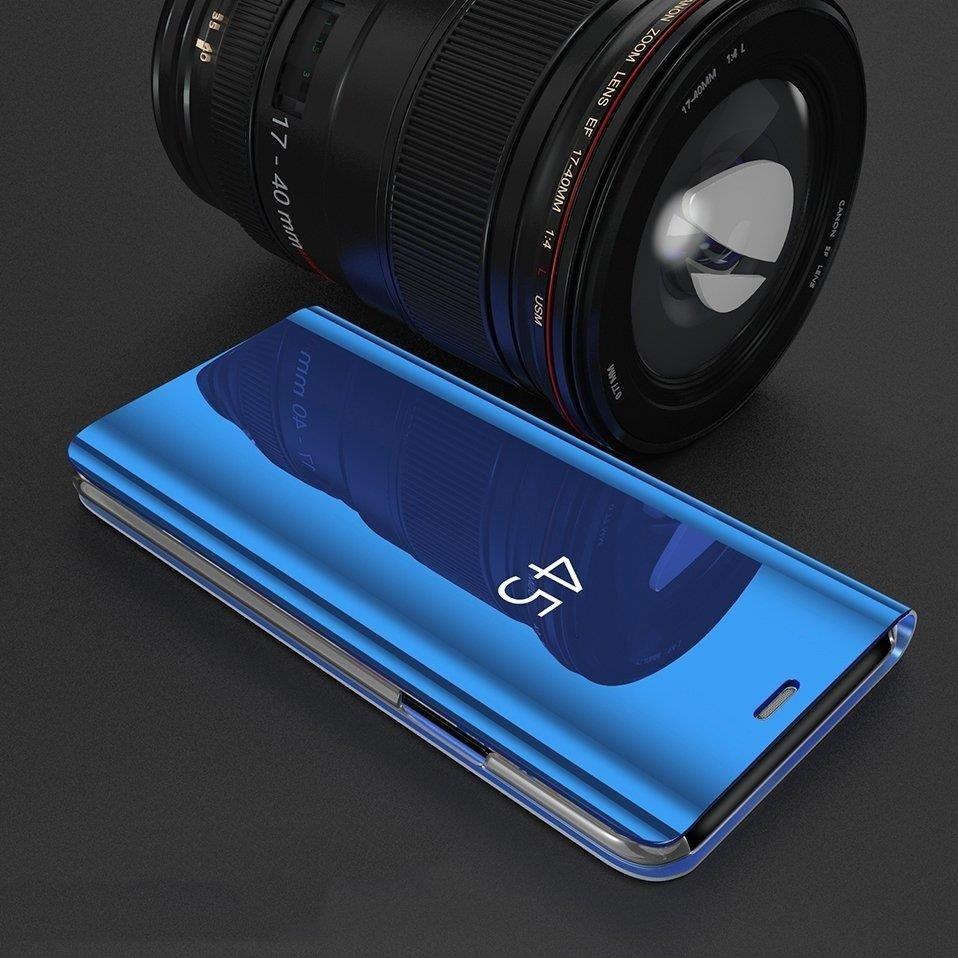 Pokrowiec Clear View niebieski Samsung Galaxy S10 Plus / 6