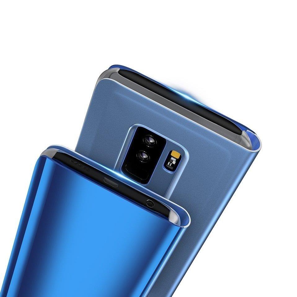 Pokrowiec Clear View niebieski Samsung Galaxy S10 Plus / 7