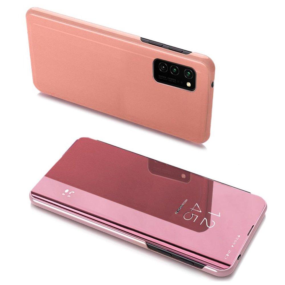 Pokrowiec Clear View różowy Samsung A32 5G