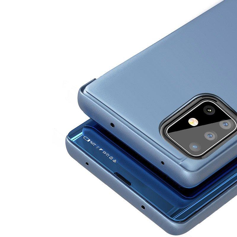 Pokrowiec Clear View różowy Samsung A51 5G / 4