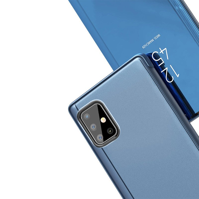 Pokrowiec Clear View różowy Samsung A51 5G / 7