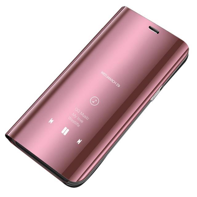 Pokrowiec Clear View różowy Samsung Galaxy S7 Edge