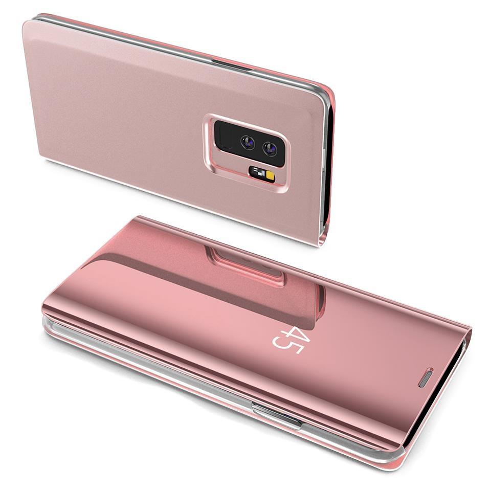 Pokrowiec Clear View różowy Samsung Galaxy S7 Edge / 2