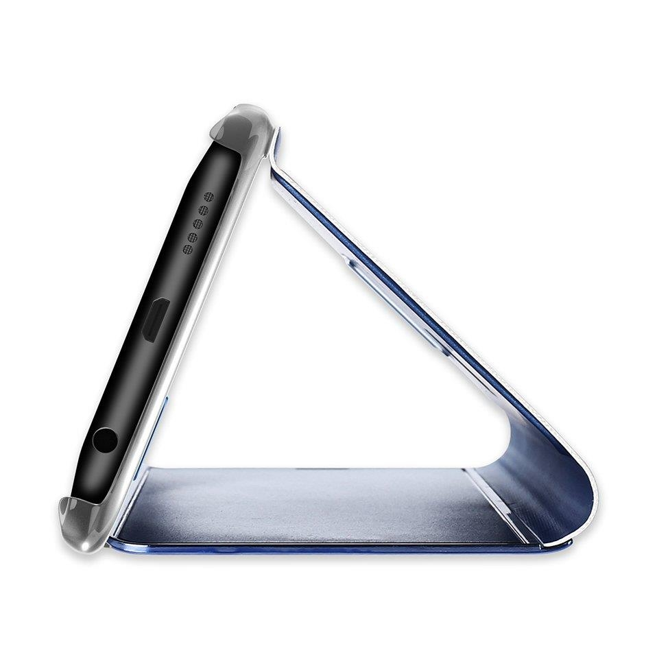 Pokrowiec Clear View różowy Samsung Galaxy S7 Edge / 5