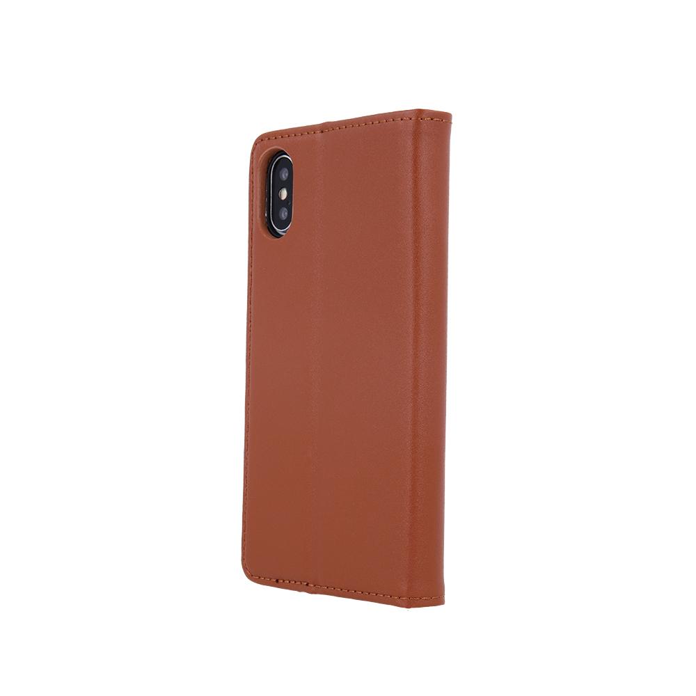 Pokrowiec skórzany Smart Pro brązowy Samsung A12 / 4