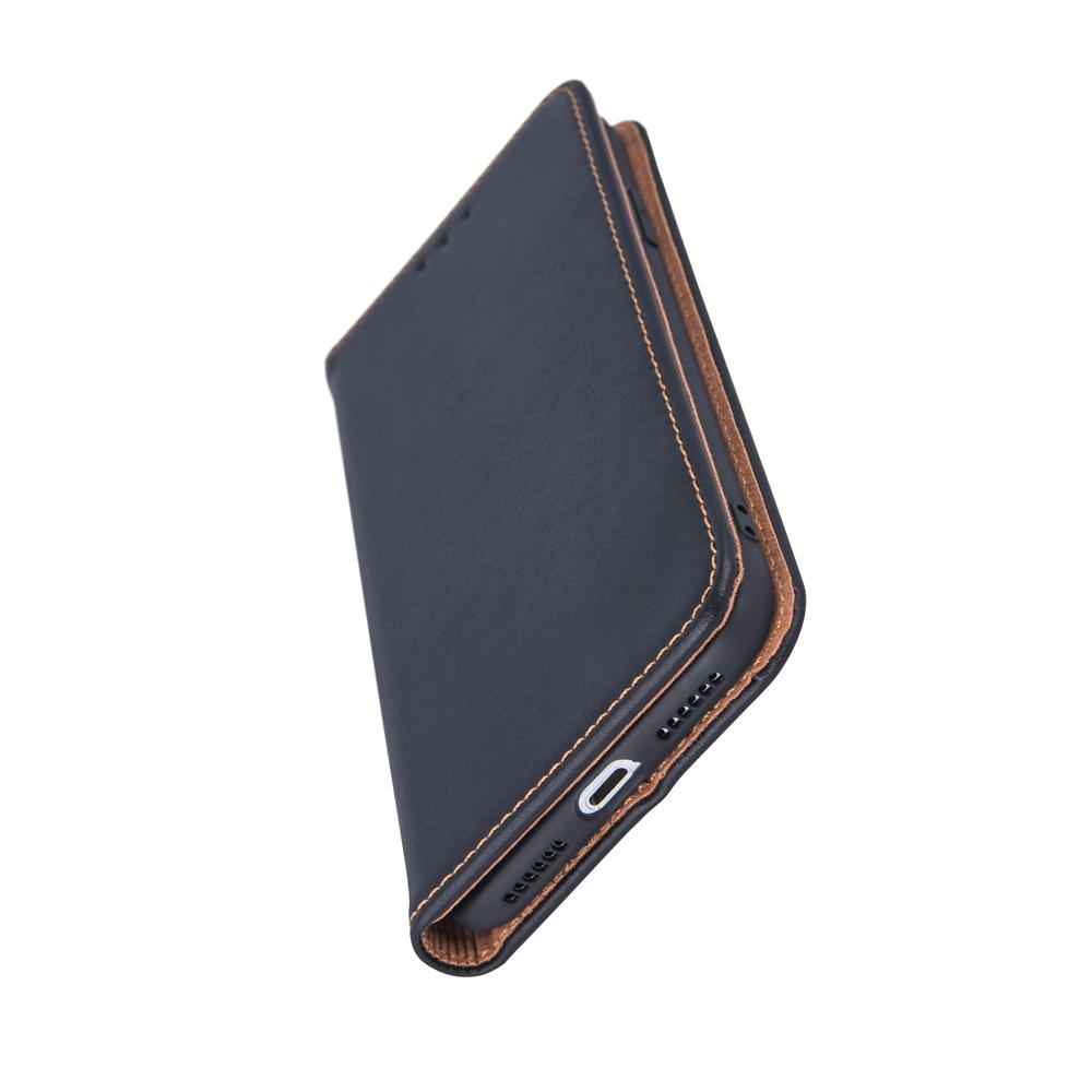 Pokrowiec skórzany Smart Pro do Samsung S7 czarny Samsung Galaxy S7 / 2