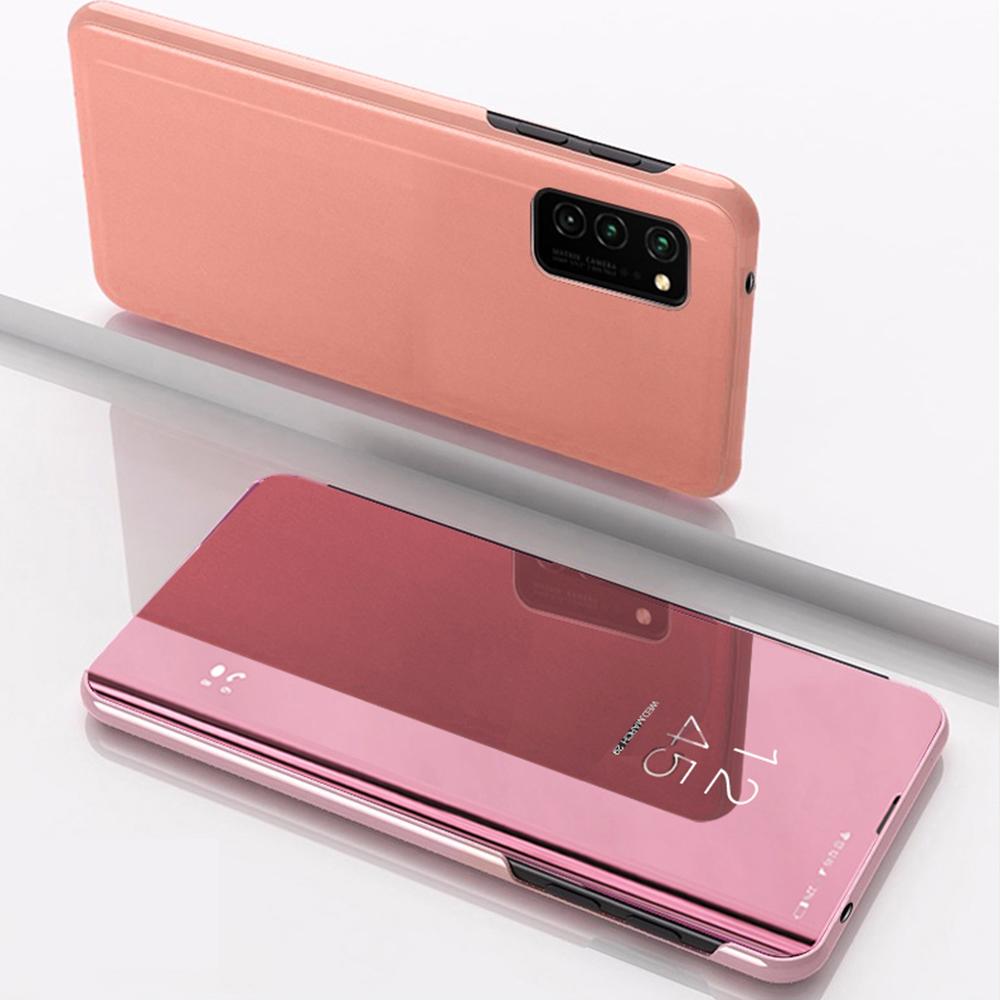 Pokrowiec Smart Clear View różowy Huawei P20 Lite / 3