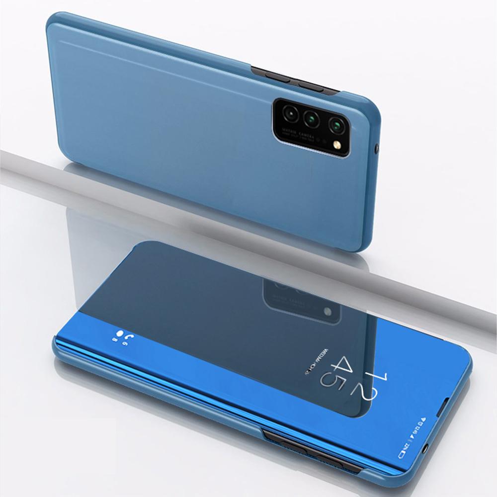 Pokrowiec Smart Clear View niebieski Huawei P30 Lite