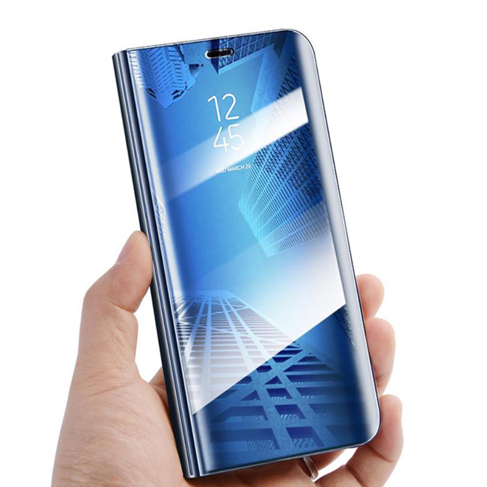 Pokrowiec Smart Clear View niebieski Huawei P30 Lite / 4