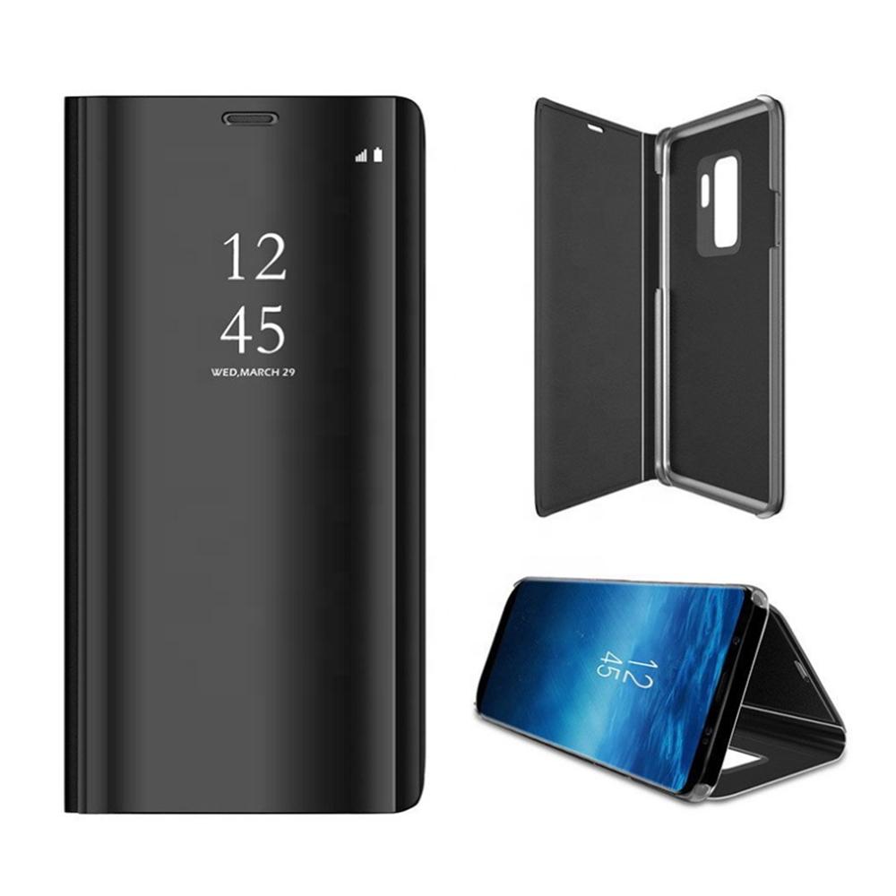 Pokrowiec Smart Clear View czarny Samsung Galaxy A51 / 2