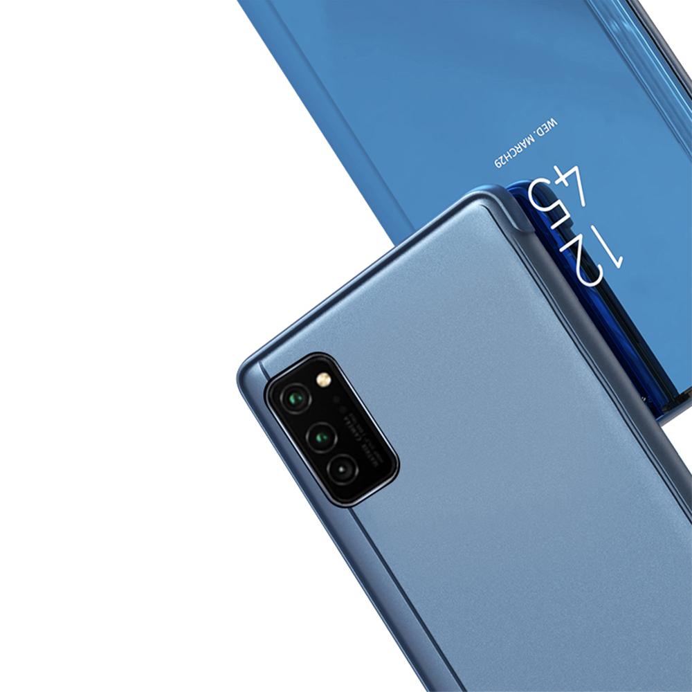 Pokrowiec Smart Clear View niebieski Samsung Galaxy A71 / 2
