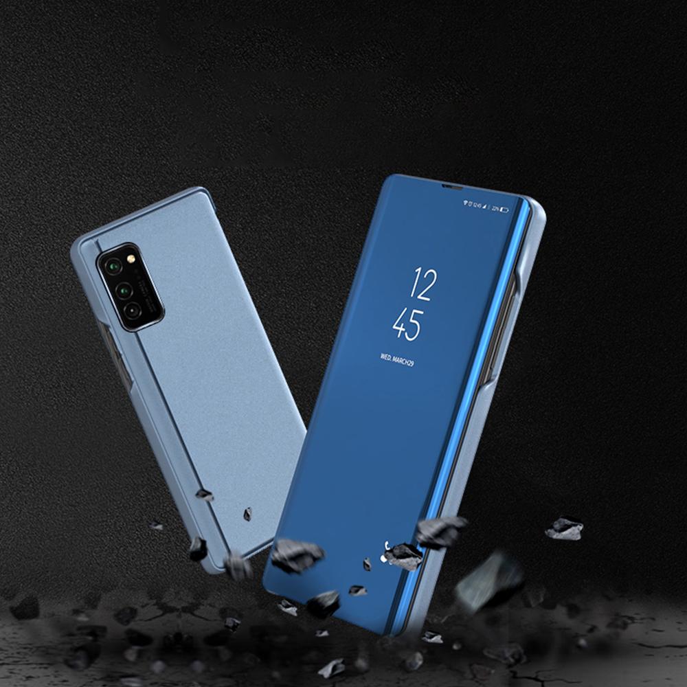 Pokrowiec Smart Clear View niebieski Samsung Galaxy A71 / 7