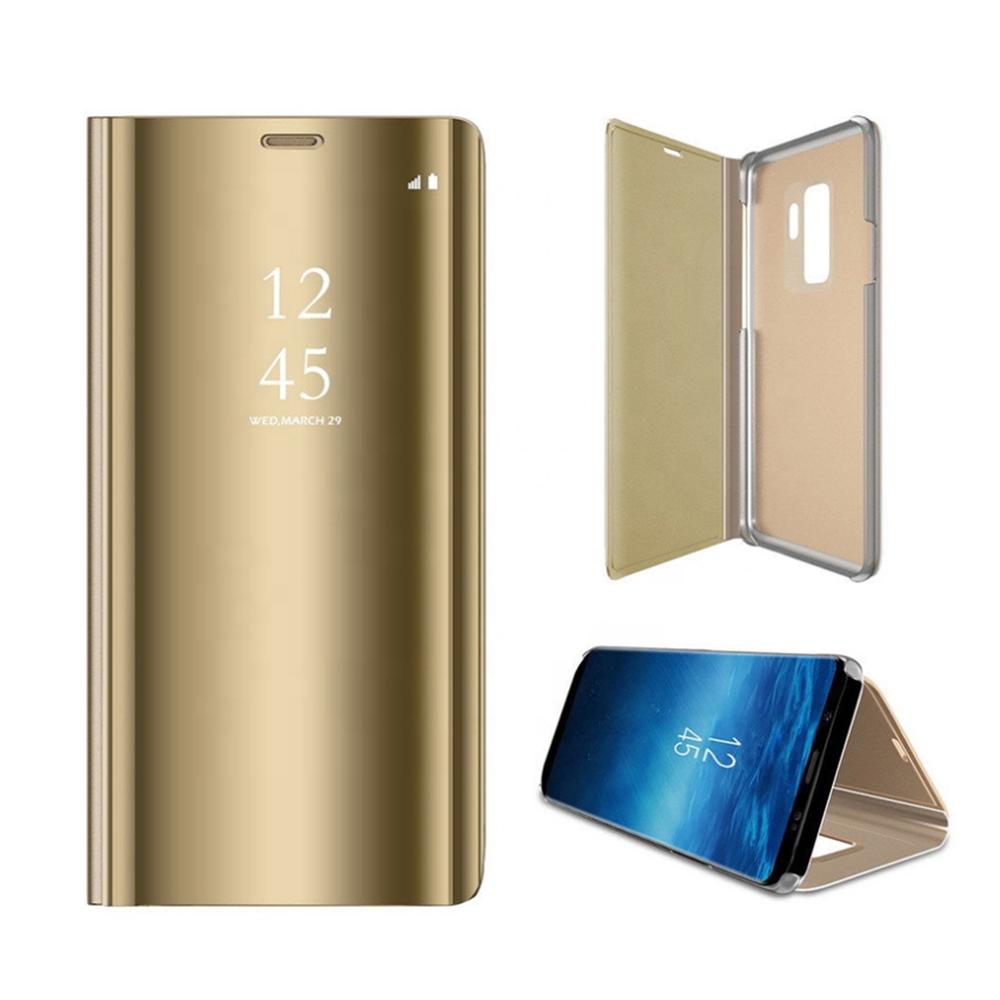 Pokrowiec Smart Clear View złoty Samsung Galaxy A71 / 2