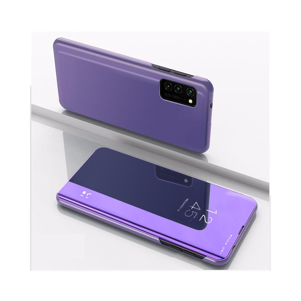 Pokrowiec Smart Clear View fioletowy Samsung Galaxy S20 FE
