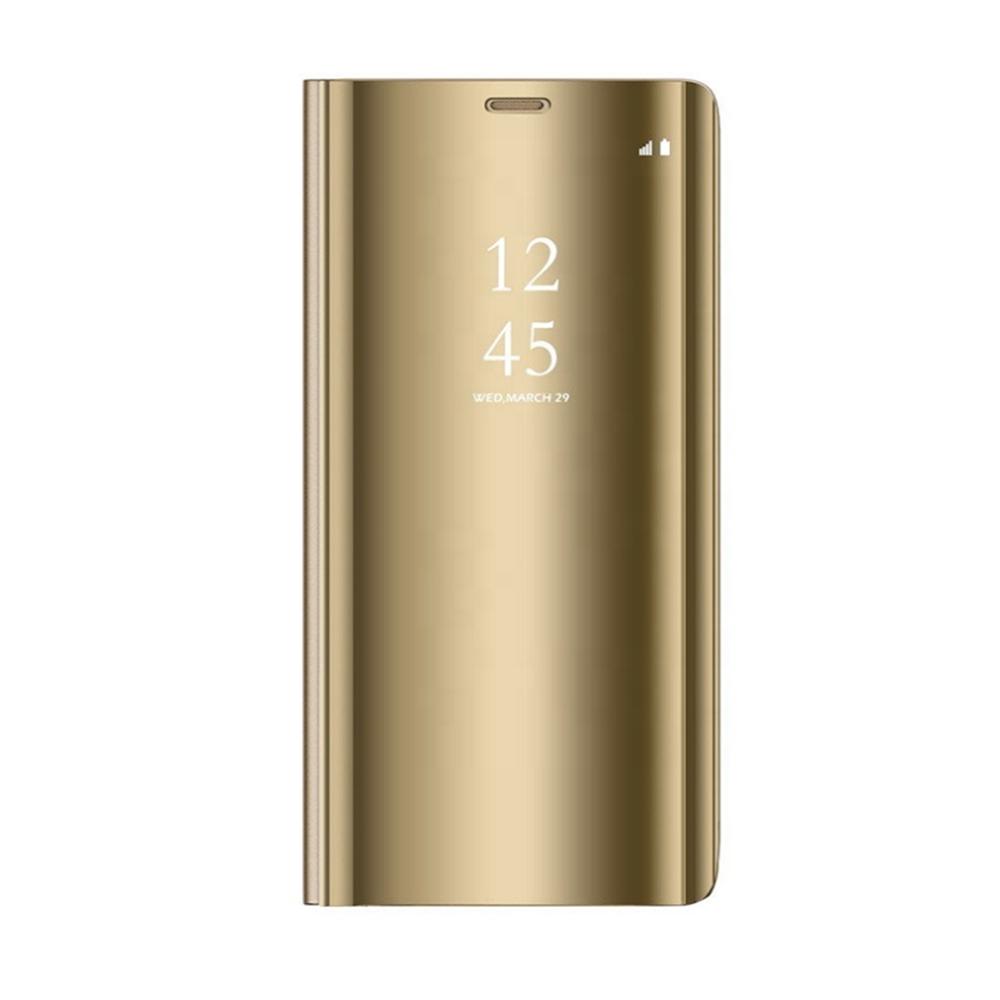 Pokrowiec Smart Clear View złoty Samsung Galaxy S7 Edge