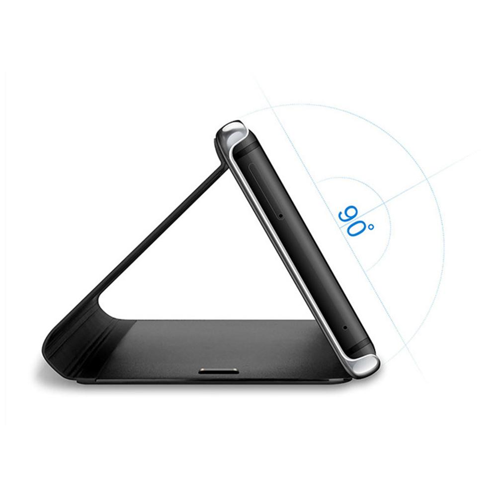 Pokrowiec Smart Clear View czarny Xiaomi Mi Note 10 Lite / 3